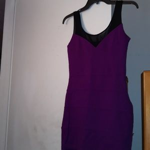 Express Size XS Form Fitted Sleeveless Dress